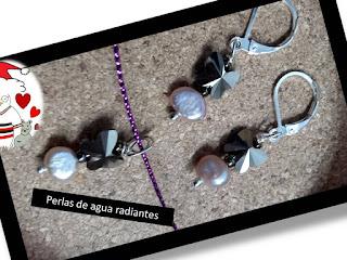 Diciembre de perlas y plata