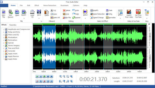 Free Audio Editor 2016 Download