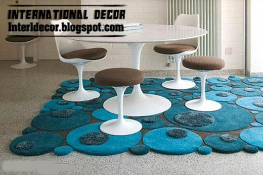 Stylish Turquoise Rug Contemporary Style For Every Rooms