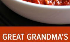 Great Grandma's Pasta Sauce