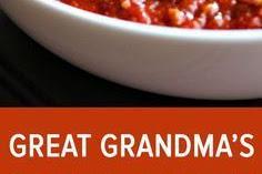 Great Grandma's Pasta Sauce