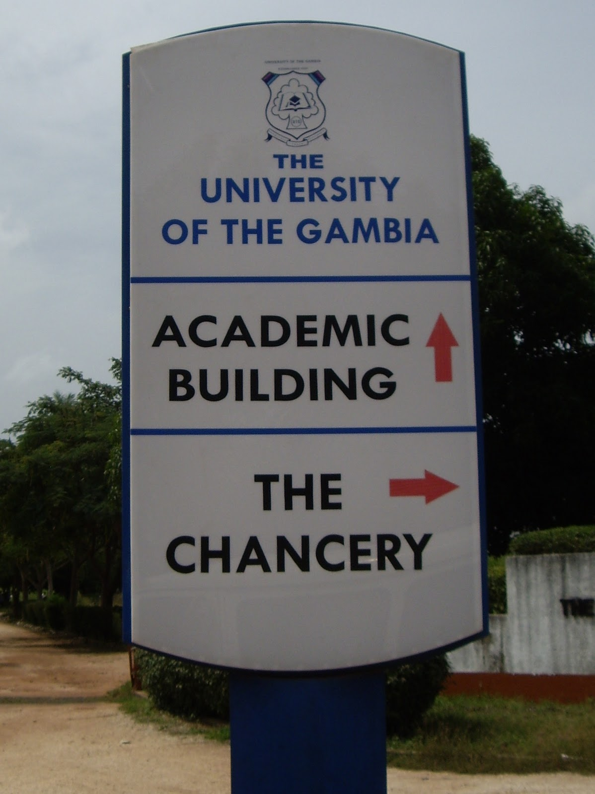 Image result for university of gambia building