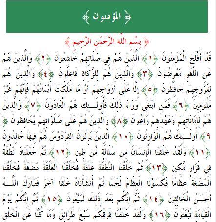 تفسير الآية 11 إلى 24 من سورة