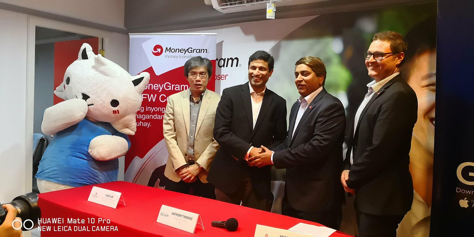 Lemon GreenTea: MoneyGram partners with GCash to offer
