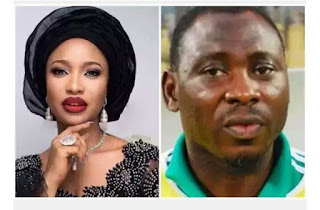 Uproar As Tonto Dikeh Goes On A Date With EX Eagles Super Star Daniel Amokachi