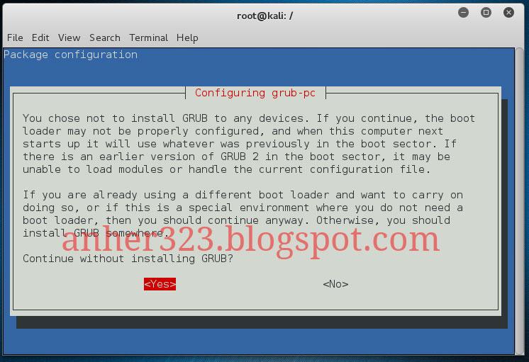 Grub Installation Failed Kali Linux Installing - poksskills