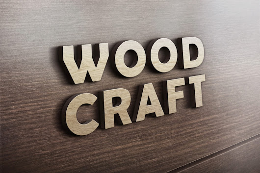 Free 3D Wooden Logo MockUp! Popular in 99designs Logo Contest! | Free Download Mockup PSD for Professional Designner