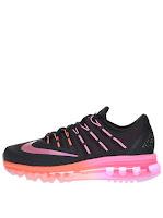 Pantofi sport negri cu roz Nike Air Max 2016