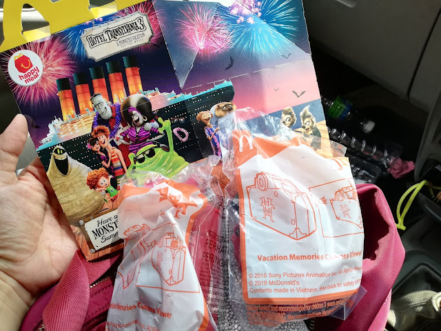 Toys Menarik Kali Ini Di McDonalds Hotel Transylvania 3 Summer Vacation