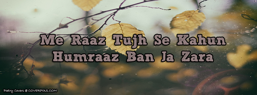 tanzia love poetry facebook cover fb display picture