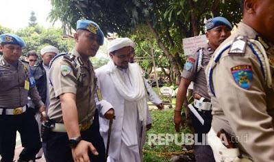 Lagi! Habib Rizieq Dilalorkan Ke Polda Metro Jaya Terkait Dugaan Ancaman Pembunuhan Pendeta