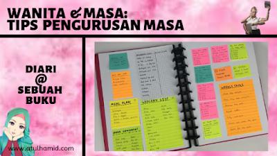 WANITA & MASA: 5 TIPS PENGURUSAN MASA