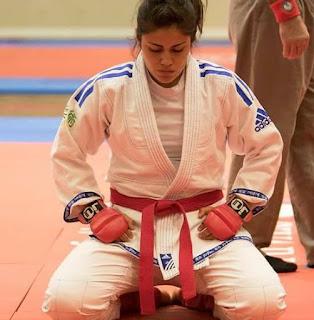 La michoacana Verónica Herrera que representa a México en el Ju-Jitsu de los Juegos Mundiales 2017