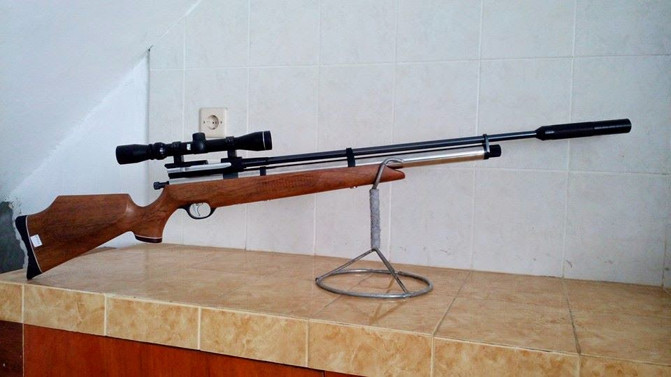 AIR RIFLE HUNTING AND MATCH: SENAPAN PCP MAUSER SIDELEVER