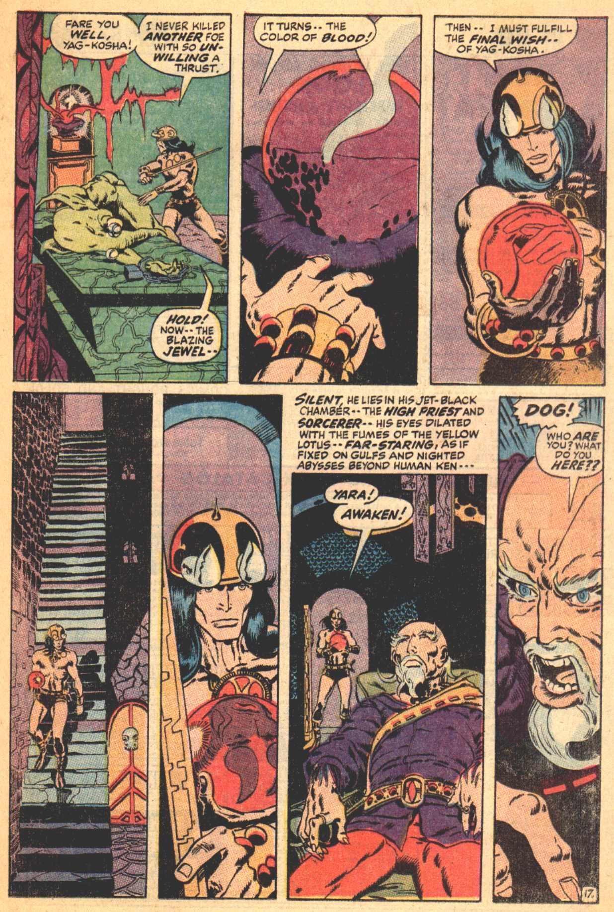 Conan the Barbarian (1970) Issue #4 #16 - English 18