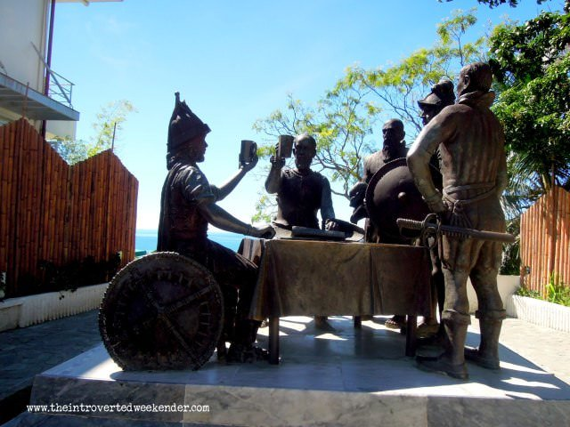 Blood Compact Shrine in Bohol