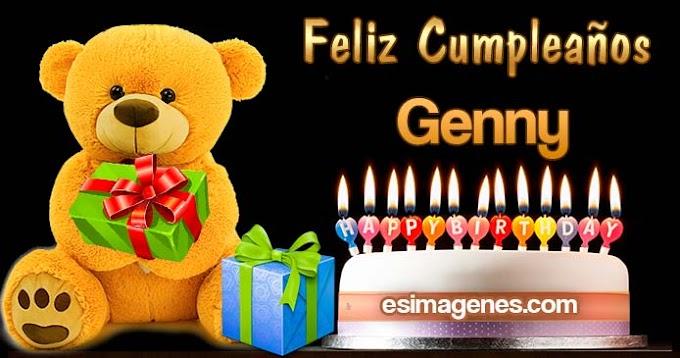 Feliz Cumpleaños Genny