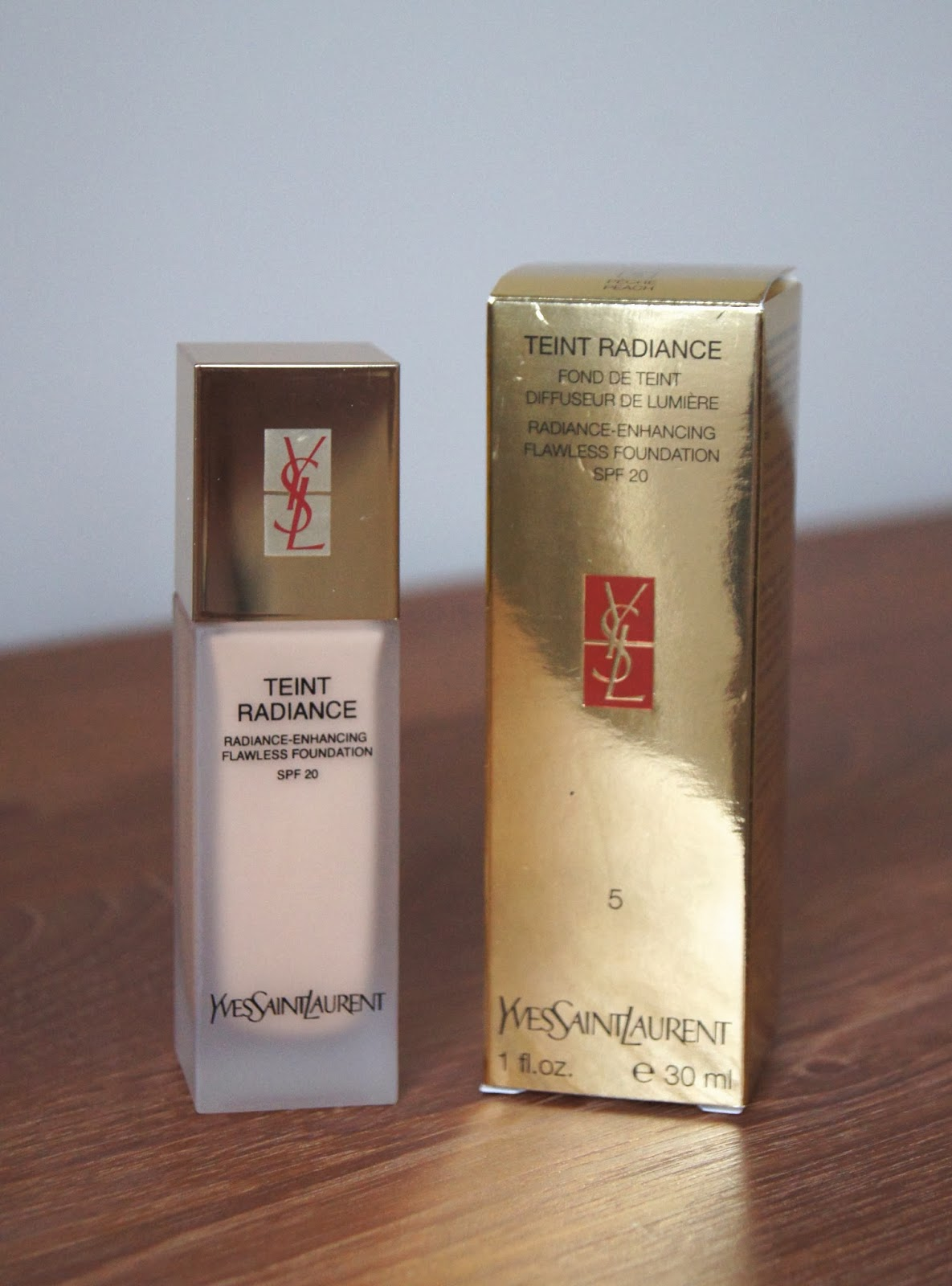 ysl teint radiance foundation review