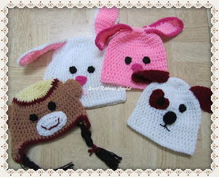 free crochet cap pattern, cute animal cap crochet free pattern