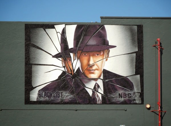 The Blacklist season 2 wall mural