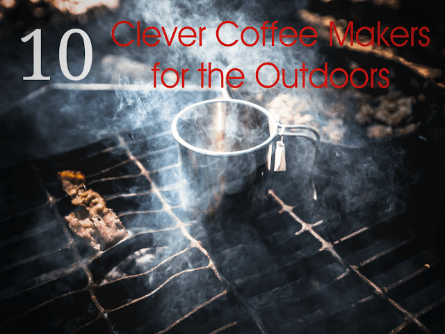 coffee camping outdoors