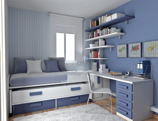 Thoughtful Teenage Bedroom Layouts - House Affair