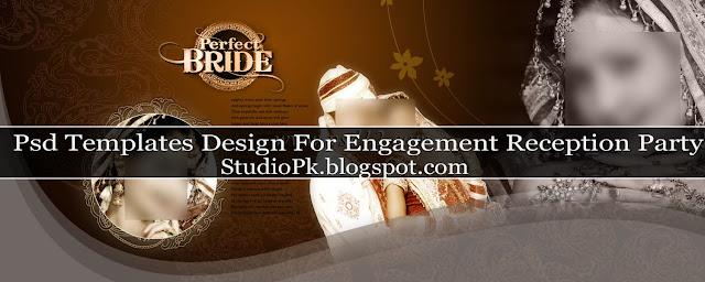 Elegant Wedding Album Design Psd Template