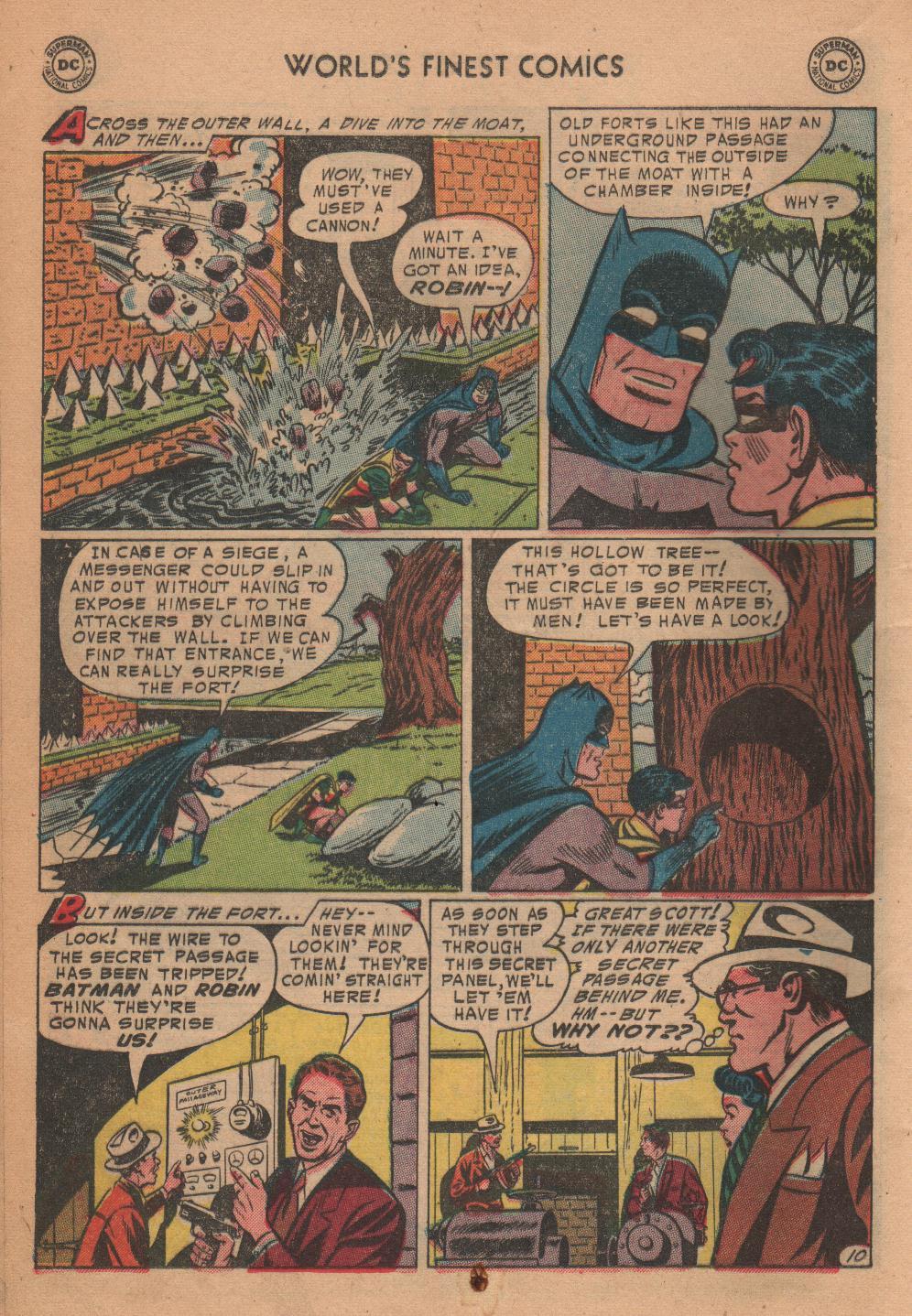Read online World's Finest Comics comic -  Issue #72 - 12
