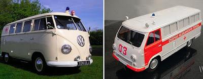 Volkswagen Van & 960s Russian RAF Classic Ambulance