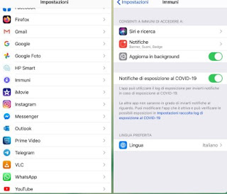 Esposizione iOS