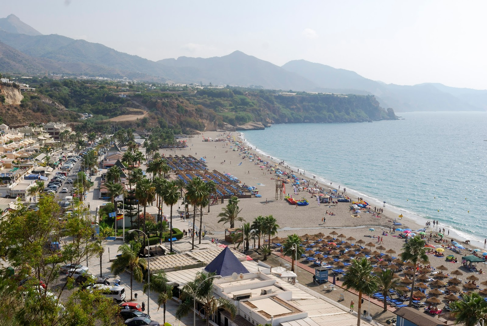 resort hotel beach spain andalusia coast southern destination playa burriana nerja malaga