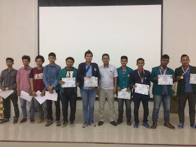 Juara Turnamen Catur Mahasiswa se-Sumatera Desember 2016, Akademi Manajemen Informatika dan Komputer (AMIK), Raymond Arifin