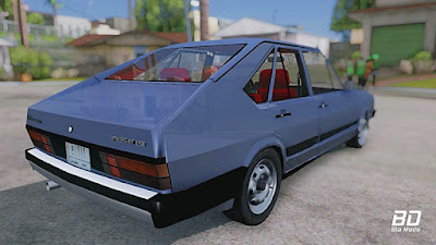 Download mod carro VW Passat Pointer LSE 1984 Iraque para GTA San Andreas, GTA SA PC