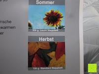 Sommer und Herbst: 4-Jahreszeiten 135x200cm Ganzjahres Bettdecke Steppdecke Steppbett Microfaser mit Druckknöpfen