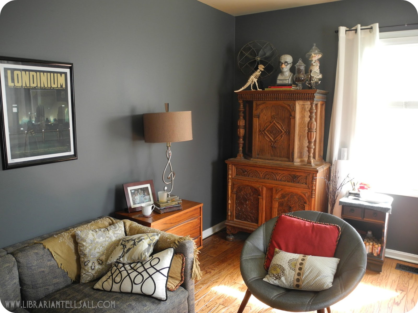 librarian tells all: My Happy Room: Mid Century Furniture, Gray ...