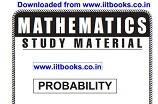 Narayna Coaching IIT JEE Study Material PDF