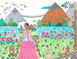 ausmalbücher für erwachsene: malbuch für erwachsene landschaften - zum ausmalen und relaxen band 1