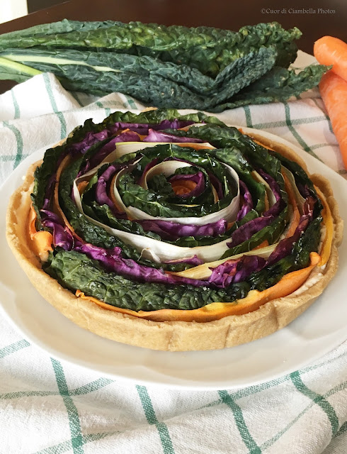 Torta Salata dai Sapori Invernali