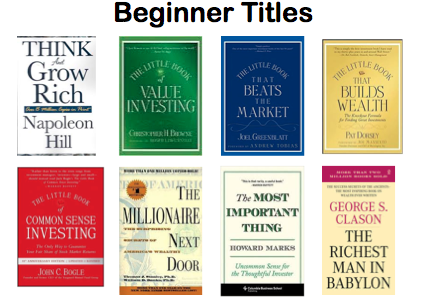 Recommended Books On Personal Finance Investing