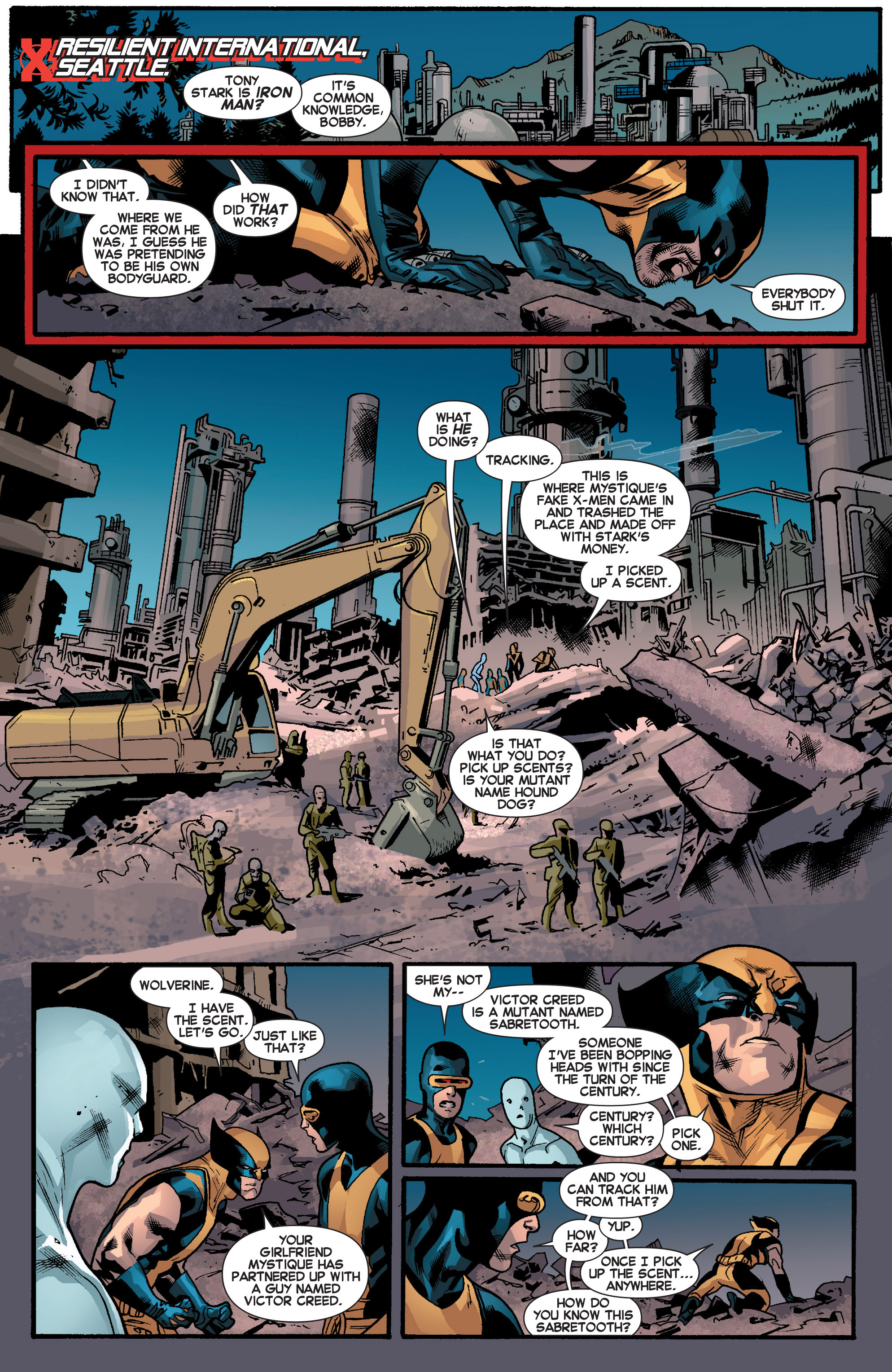 Read online All-New X-Men (2013) comic -  Issue # _Special - Out Of Their Depth - 53