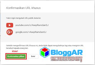Cara Mendapatkan URL Khusus Google Plus Nama Anda Sendiri