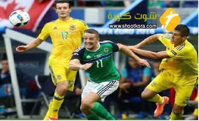 ختام مباريات اوكرانيا فى المجموعه الثالثه ومباراة قوية امام بولندا