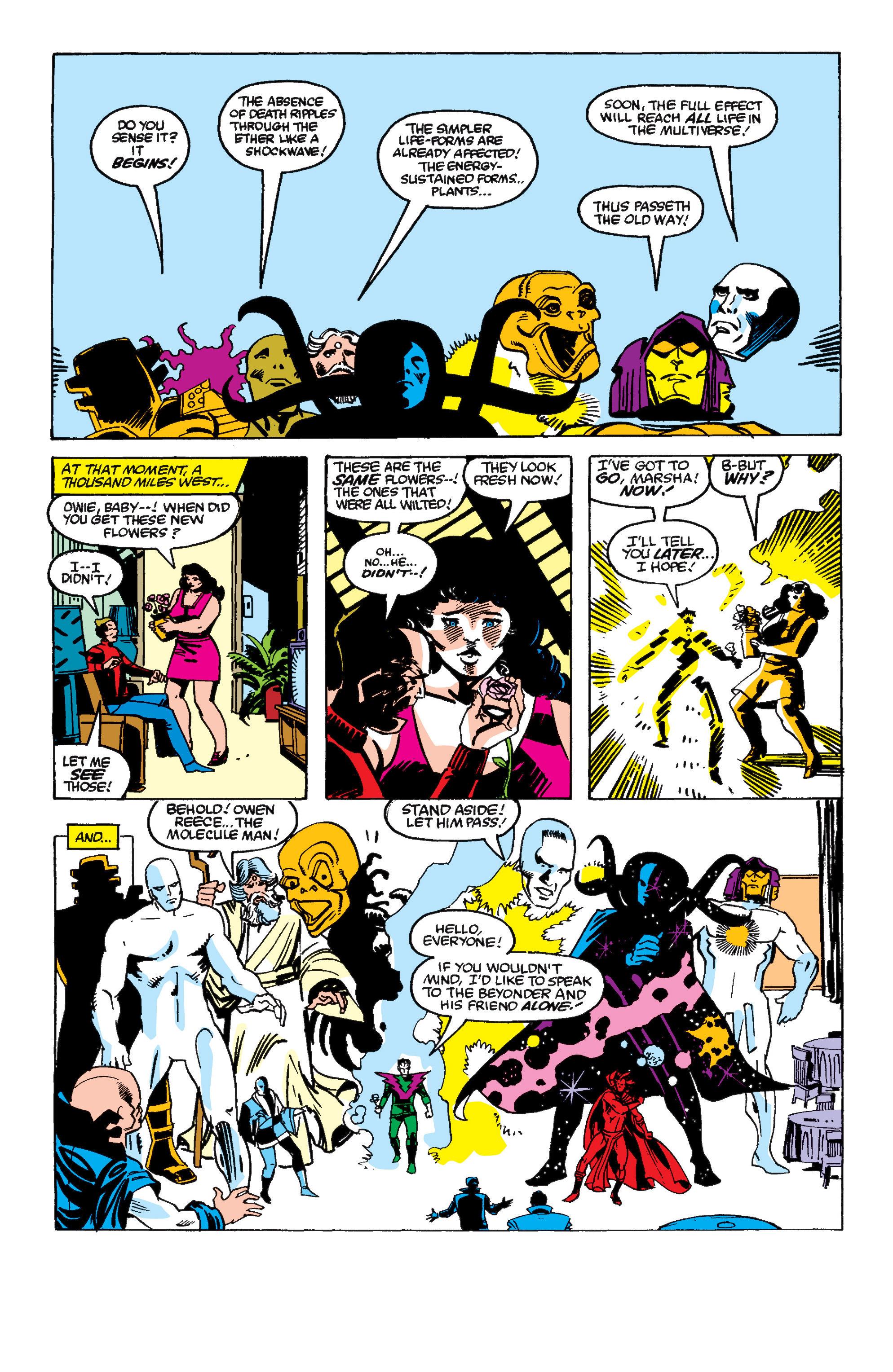 Read online Secret Wars II comic -  Issue #6 - 24