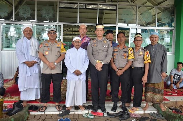 Dirpamobvit Polda Banten Bersana Kapolresta Tangerang sambang kamtibmas di kabupaten tangerang