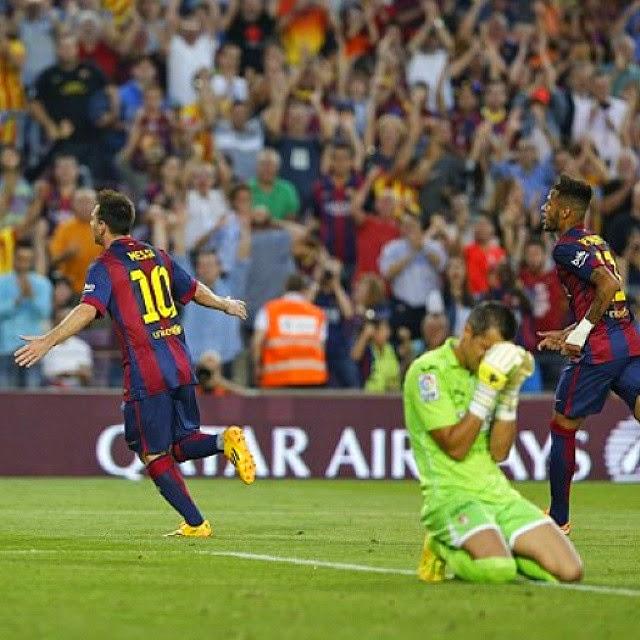 Fc Barcelona Vs Granada C F 2014 2015 Fc Barcelona Photo