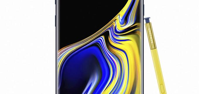 Samsung announces Galaxy Note9