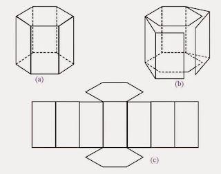 Jaring-jaring prisma segi enam