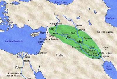 HISTÓRIA DA CIVILIZAÇÃO MESOPOTÂMICA