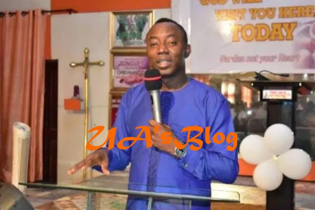 2019: I'm The Moses That Will Liberate Nigerians From The Wicked Pharaohs – Sowore Tells Church Congregation