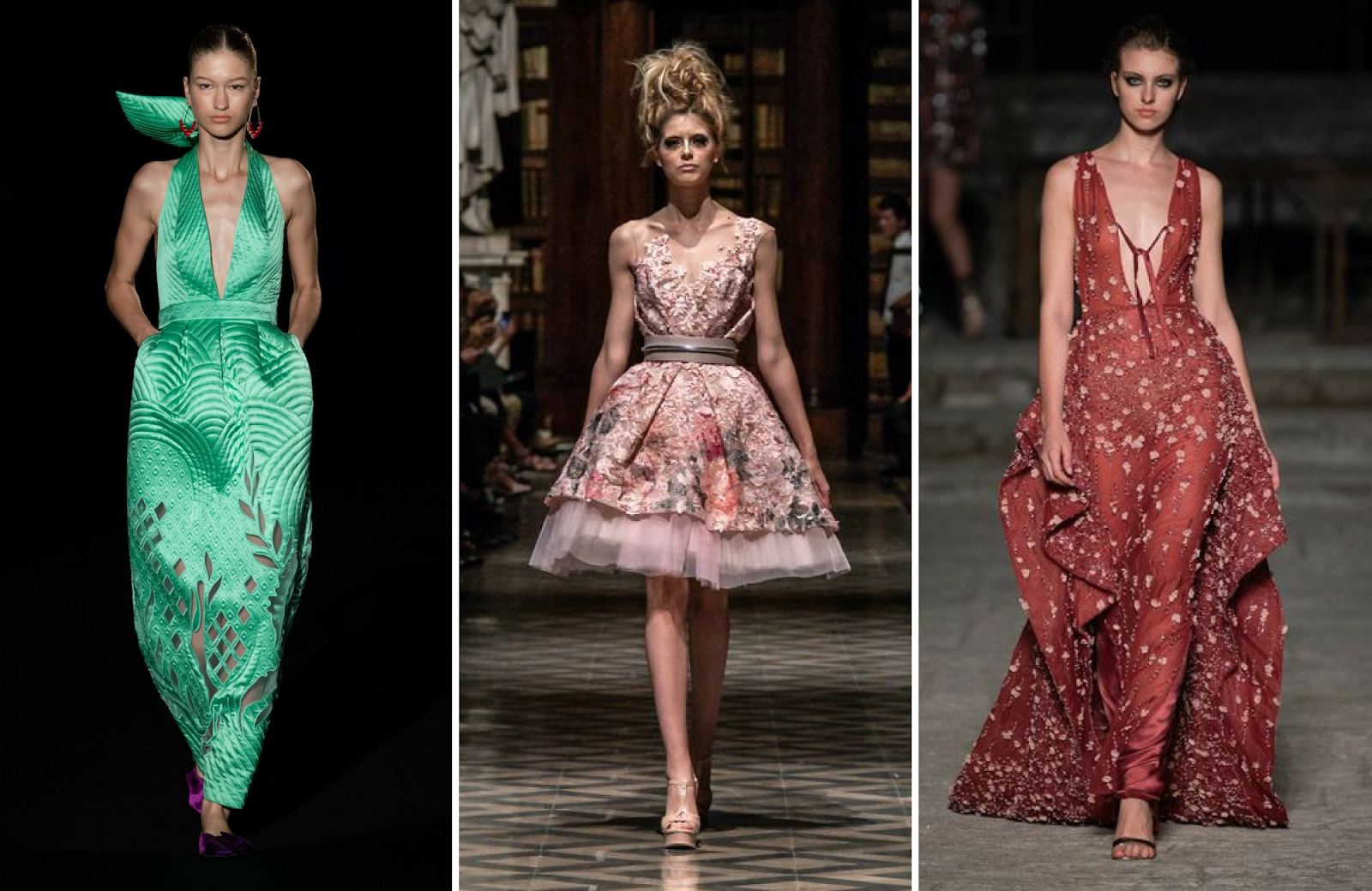 online store cb87c cf9db Altaroma 2018 parte 2 - La couture in 3 sfilate della ...